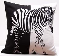 Povlak na polštářek Zebra PJR98