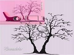 Šablona na malování S-Tree 03 70x50cm/skladem