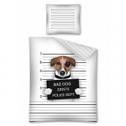 Povlečení dětské -BAD DOG POD14