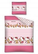 Povlečení Hello Kitty Teddy 140/200cm