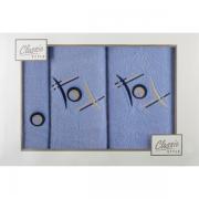 Sada ručníků modrá 3-dílná G85