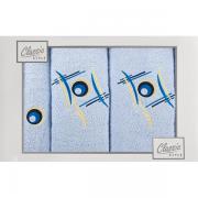 Sada ručníků světle modrá-dílná G81
