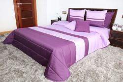 Přehoz na postel lila-fialový 45O 200x220cm