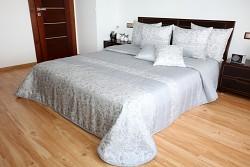 Přehoz na postel šedý 44N 170x210cm