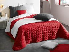 Přehoz na postel UNI / Salsa Red 220x240