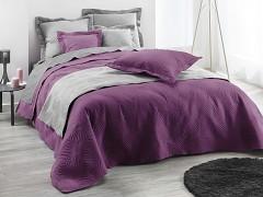 Přehoz na postel UNI / Purple 220x240