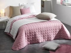 Přehoz na postel UNI /Poudre de Lilas 220x240