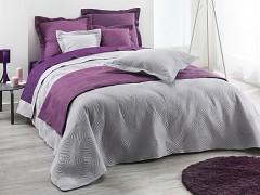 Přehoz na postel UNI /Light Grey 220x240