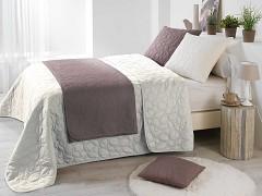 Přehoz na postel UNI /Bisou Cream 220x240