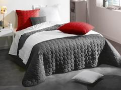 Přehoz na postel UNI /Anthracite 220x240