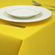 Ubrus standard hladký žlutý