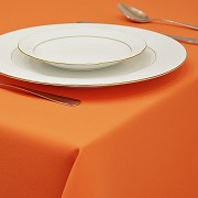 Ubrus standard hladký oranžový