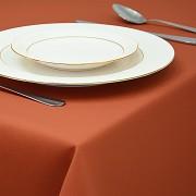 Ubrus standard hladký terakota