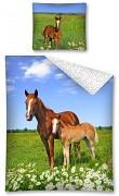 Dětské povlečení Koně
