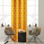 Závěs s marockým vzorem žlutý