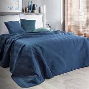 Přehoz na postel Sofia modrý granátový