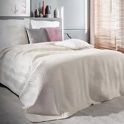 Přehoz na postel Sofia krémový