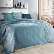Přehoz na postel Sofia světle modrý