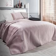 Přehoz na postel Sofia pudrový
