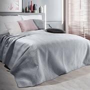 Přehoz na postel Sofia stříbrný