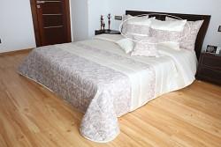 Přehoz na postel pískovo-béžový 44R