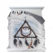 Přehoz na postel lapač snů- 200x220cm