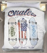 Přehoz na postel Skateboard-200x220cm