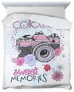 Přehoz na postel Sweet memories-200x220