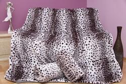 Přehoz na sedací soupravu bílý gepard