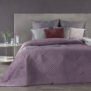 Sametový přehoz na postel Sarah vřesový