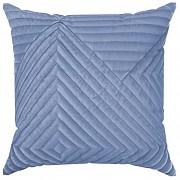 Sametový povlak na polštář Sarah modrý
