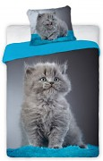 Povlečení Kotě modré