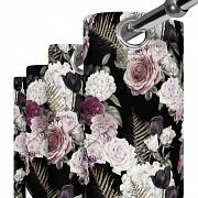Moderní závěs-Růže v kapradí