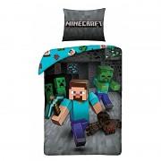 Povlečení Minecraft Steve 140/200, 70/80