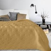 Přehoz přes postel Alara hořčicový