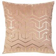 Sametový povlak na polštář Mink růžový