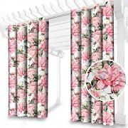 Závěs zahradní- Růžové květy