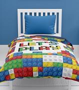 Dětský přehoz na postel-Lego