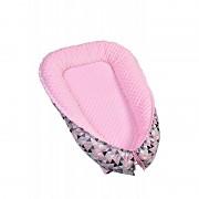 Hnízdečko pro miminko MINKY, pink triangles