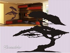 Šablona na malování S-Tree 04