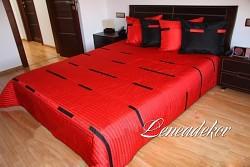 Luxusní přehoz na postel 12K-rozměry š.170cmx d.210cm(včetně 2ks povlaků na polštář 50x60cm)