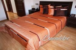 Luxusní přehoz na postel 12M-rozměry š.170cmx d.210cm(včetně 2ks povlaků na polštář 50x60cm)