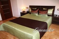 Luxusní přehoz na postel 16o2-rozměry š.170cmx d.210cm(včetně 2ks povlaků na polštář 50x60cm)