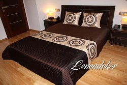 Luxusní přehoz na postel 21A-rozměry š.170cmx d.210cm(včetně 2ks povlaků na polštář 50x60cm)