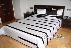 Luxusní přehoz na postel 24B-rozměry š.170cmx d.210cm(včetně 2ks povlaků na polštář 50x60cm)