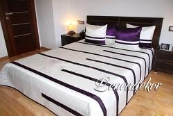 Luxusní přehoz na postel 24C-rozměry š.170cmx d.210cm(včetně 2ks povlaků na polštář 50x60cm)
