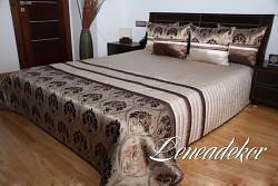 Luxusní přehoz na postel 28A-rozměry š.170cmx d.210cm(včetně 2ks povlaků na polštář 50x60cm)