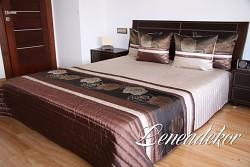 Luxusní přehoz na postel 29I-rozměry š.170cmx d.210cm(včetně 2ks povlaků na polštář 50x60cm)