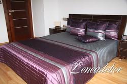 Luxusní přehoz na postel 29R-rozměry š.170cmx d.210cm(včetně 2ks povlaků na polštář 50x60cm)