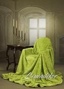 Luxusní zelená deka akrylová
